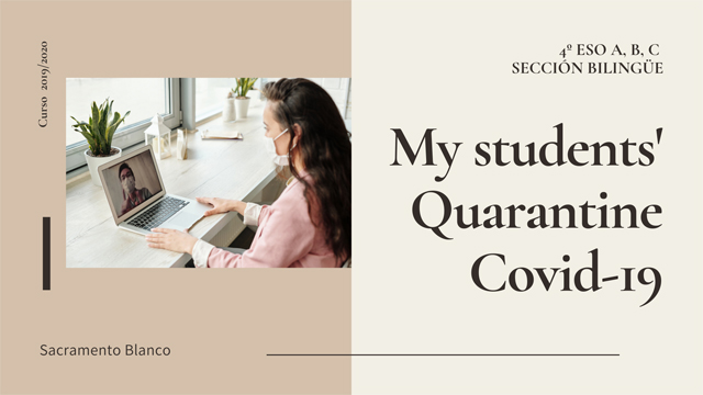 My students Quarantine Covid 19